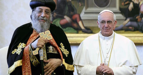 pope tawadros visits